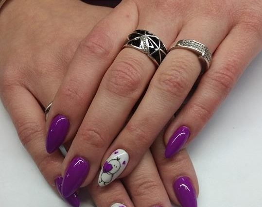 paznokcie akrylowe głogów